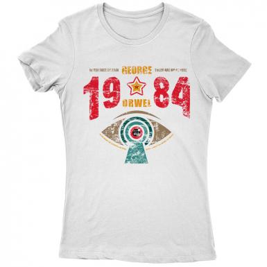 Nineteen Eighty-Four 1984 Womens T-shirt