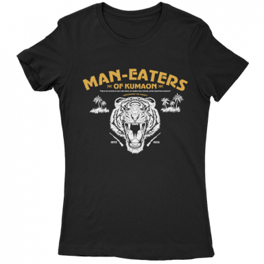Man-Eaters Of Kumaon Womens T-shirt