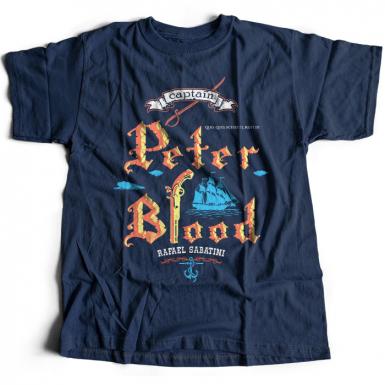 Captain Blood Mens T-shirt