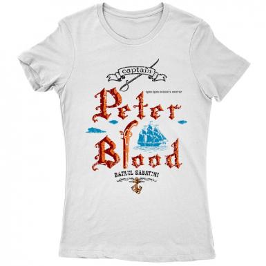 Captain Blood Womens T-shirt