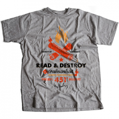 Fahrenheit 451 Mens T-shirt