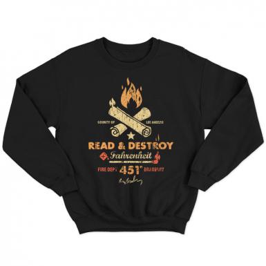 Fahrenheit 451 Unisex Sweatshirt