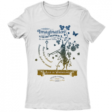 Alice In Wonderland Womens T-shirt