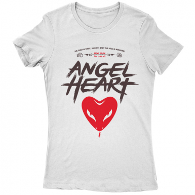 Falling Angel (Angel Heart) Womens T-shirt