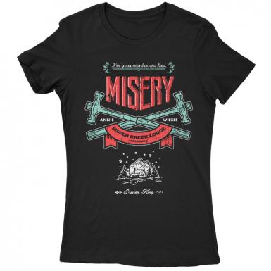 Misery Womens T-shirt