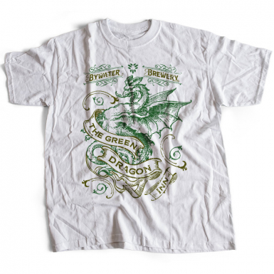 The Lord of the Rings (Green Dragon Inn) Mens T-shirt