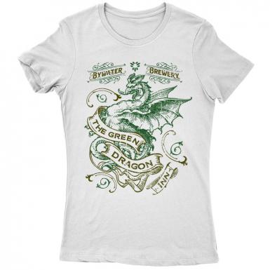 The Lord of the Rings (Green Dragon Inn) Womens T-shirt