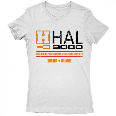 HAL 9000 Womens T-shirt