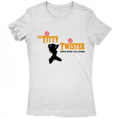 Titty Twister Womens T-shirt