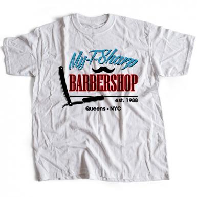 My T-Sharp Barber Shop Mens T-shirt