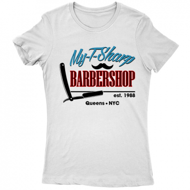 My T-Sharp Barber Shop Womens T-shirt
