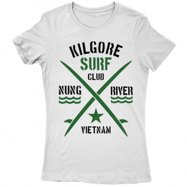 Kilgore Surf Club Womens T-shirt