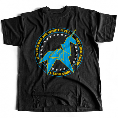 Unicorn Origami Mens T-shirt