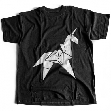 Unicorn Origami Mens T-shirt