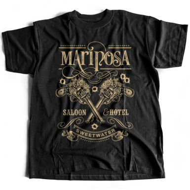 Mariposa Saloon Mens T-shirt