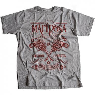 Mariposa Saloon Mens T-shirt