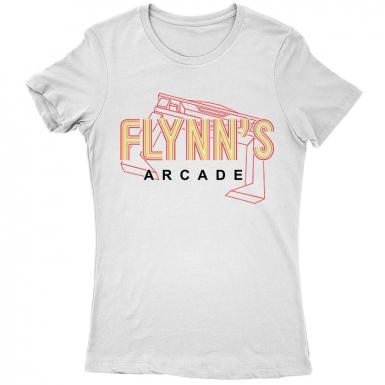 Flynn's Arcade Womens T-shirt