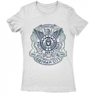 Gotham City Police Dept Womens T-shirt