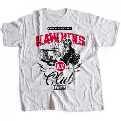 Hawkins AV Club Mens T-shirt