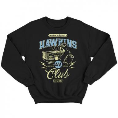 Hawkins AV Club Unisex Sweatshirt
