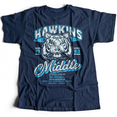 Hawkins Middle School Mens T-shirt