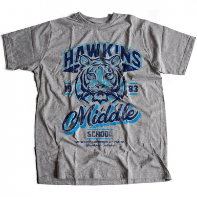 Hawkins Middle School Mens T-shirt
