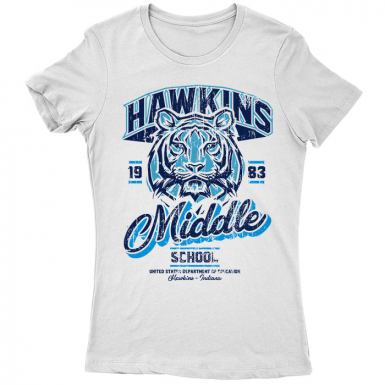 Hawkins Middle School Womens T-shirt