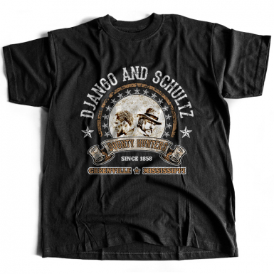 Django And Schultz Mens T-shirt