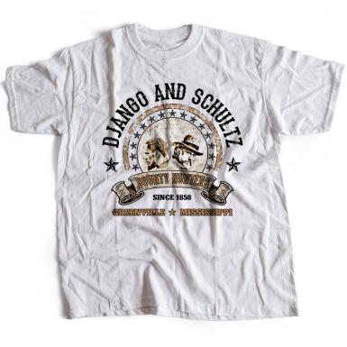Django And Schultz Mens T-shirt