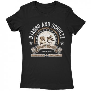 Django And Schultz Womens T-shirt