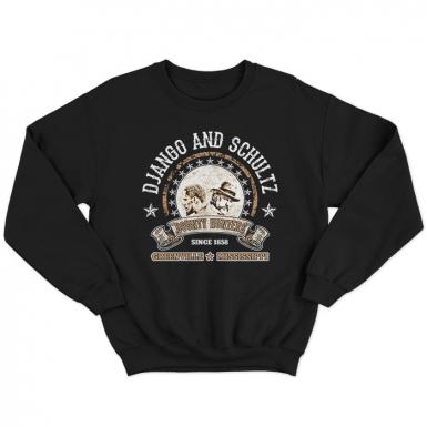 Django And Schultz Unisex Sweatshirt