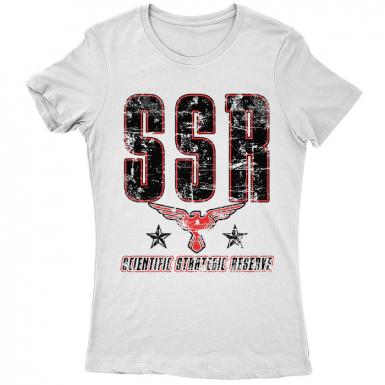 SSR Scientific Strategic Reserve Womens T-shirt