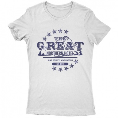 The Great Northern Hotel Womens T-shirt