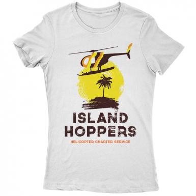 TC's Island Hoppers Womens T-shirt