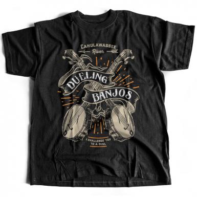 Dueling Banjos Mens T-shirt