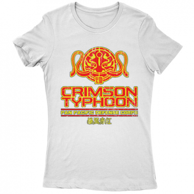 Crimson Typhoon Womens T-shirt