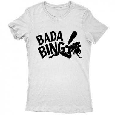 Bada Bing Club Womens T-shirt