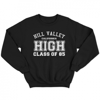 Hill Valley High Unisex Sweatshirt