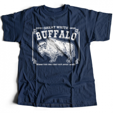 Great White Buffalo Mens T-shirt