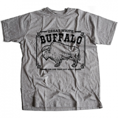 Great White Buffalo Mens T-shirt