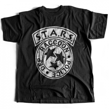 Racoon City Mens T-shirt