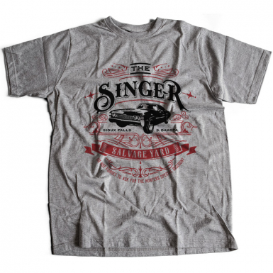 Singer Salvage Auto Yard Mens T-shirt