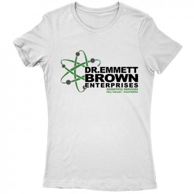 Dr Emmett Brown Enterprises Womens T-shirt