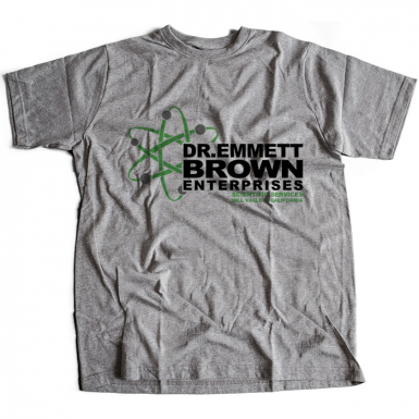 Dr Emmett Brown Enterprises Mens T-shirt