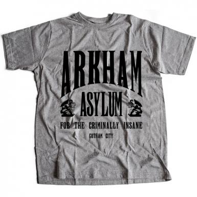 Arkham Asylum Mens T-shirt