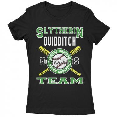 Slytherin Team Womens T-shirt