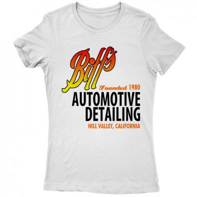 Biff's Auto Detailing Womens T-shirt