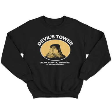 Devils Tower Unisex Sweatshirt