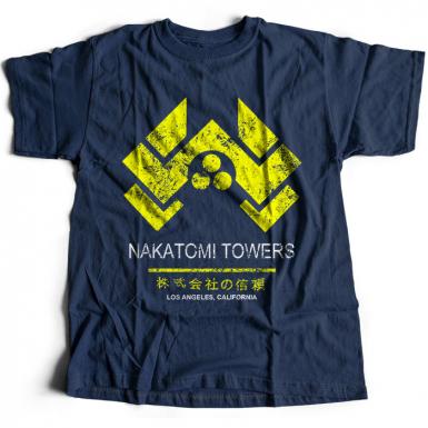 Nakatomi Towers Mens T-shirt