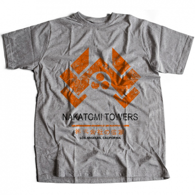 Nakatomi Towers Mens T-shirt